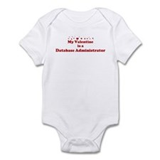 Valentine: Database Administr Infant Bodysuit