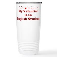 Valentine: English Student Travel Mug