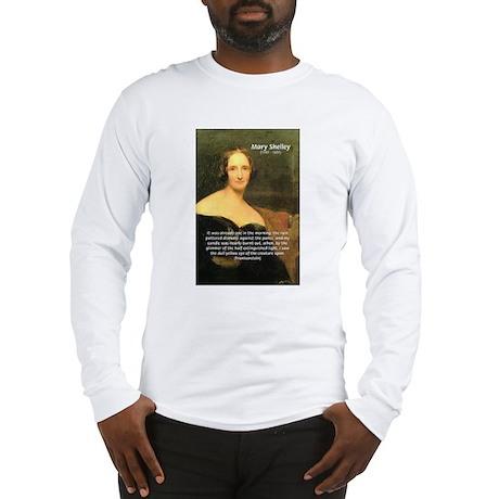 Writer Mary Shelley Long Sleeve T-Shirt