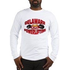 DELAWARE Powerlifting! Long Sleeve T-Shirt