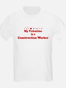 Valentine: Construction Worke T-Shirt