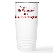 Valentine: Biomedical Enginee Travel Mug