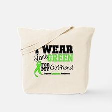 IWearLimeGreen Girlfriend Tote Bag