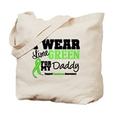 I Wear Lime Green Daddy Tote Bag