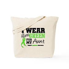 IWearLimeGreen Aunt Tote Bag