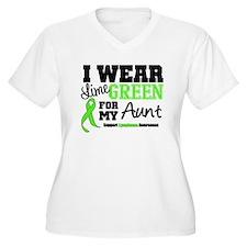 IWearLimeGreen Aunt T-Shirt