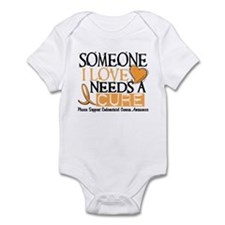 Needs A Cure ENDOMETRIAL CANCER Infant Bodysuit