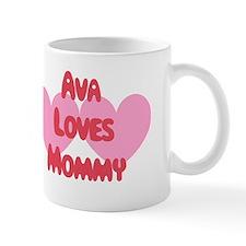 Ava Loves Mommy Mug