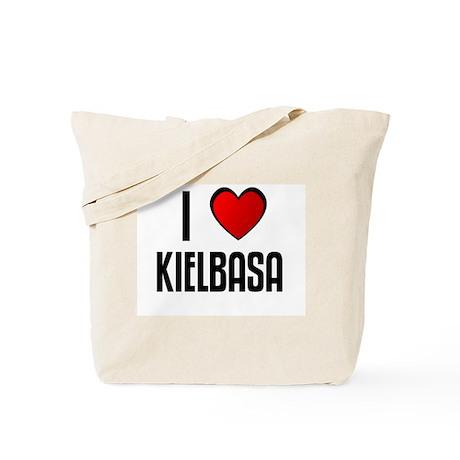 I LOVE KIELBASA Tote Bag