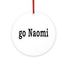 go Naomi Ornament (Round)