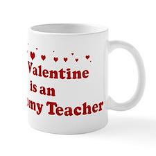 Valentine: Anatomy Teacher Mug