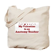 Valentine: Anatomy Teacher Tote Bag