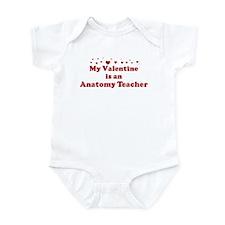 Valentine: Anatomy Teacher Infant Bodysuit