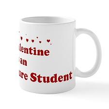 Valentine: Architecture Stude Small Mug