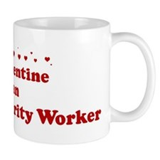 Valentine: Airport Security W Mug