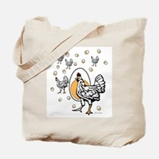 Cute Roseanne chicken egg Tote Bag