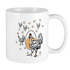 ChickenFlat Mugs