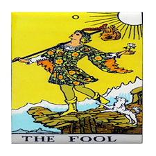 """""""The Fool"""" Tile Coaster"""