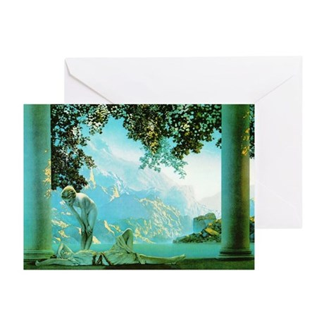 Maxfield Parrish Daybreak Greeting Cards-Pk of 10