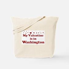 Valentine in Washington Tote Bag