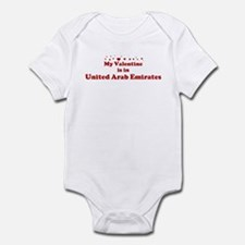 Valentine in United Arab Emir Infant Bodysuit
