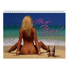 "Sam Maxwell's ""Wet & Wild"" Swimsuit Wall Calendar!"