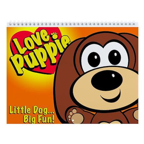"Sam Maxwell's ""Love Puppie"" Wall Calendar!"