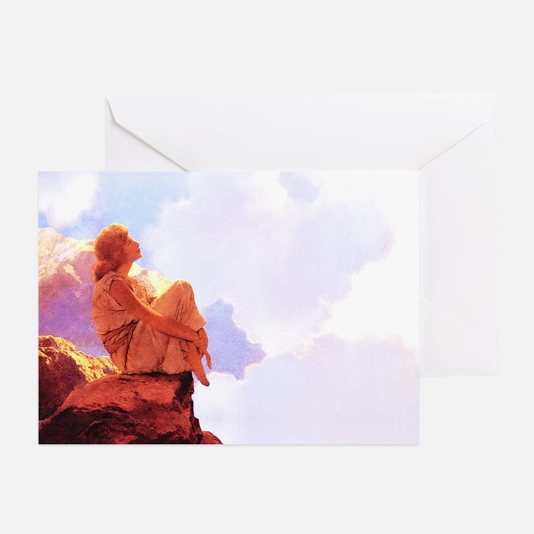 Maxfield Parrish Spring Morning Cards (Pk of 10)