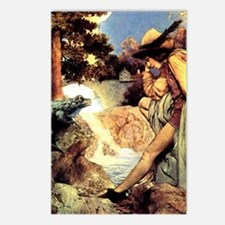Maxfield Parrish Frog Prince Postcards (Pkg of 8)