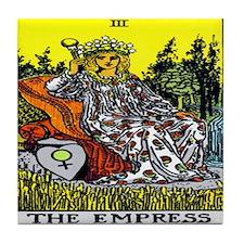 """""""The Empress"""" Tile Coaster"""