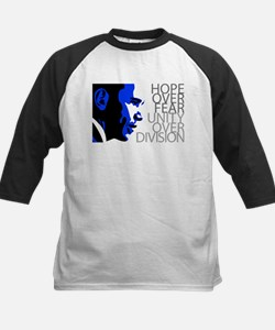 Obama - Hope Over Division - Blue Tee