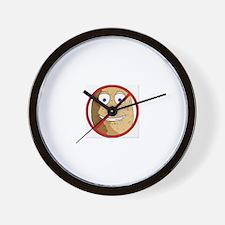 Cute Lowcarb Wall Clock