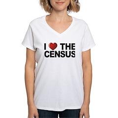 I Love The Census Shirt