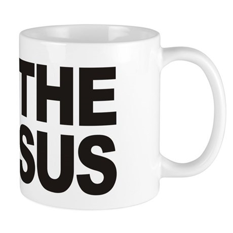 I Love The Census Mug
