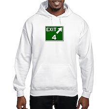 EXIT 4 Hoodie
