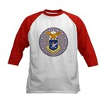 Air Force Officer School (Front) Kids Baseball Jer