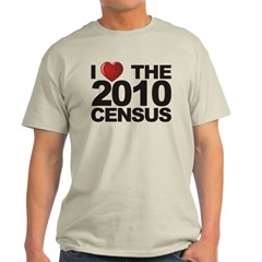I Love The 2010 Census T-Shirt