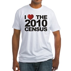I Love The 2010 Census Shirt