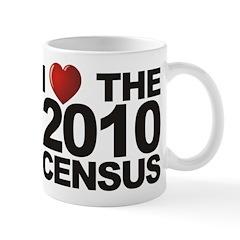 I Love The 2010 Census Mug