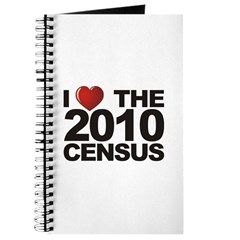 I Love The 2010 Census Journal