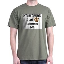 My best friend is an ESQUIMAUX DOG T-Shirt