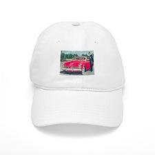 Red Studebaker on Baseball Cap