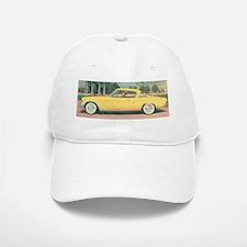 Yellow Studebaker on Baseball Baseball Cap
