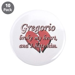 Gregorio broke my heart and I hate him 3.5