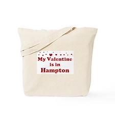 Valentine in Hampton Tote Bag