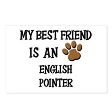 My best friend is an ENGLISH POINTER Postcards (Pa