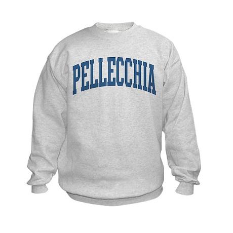 Pellecchia Collegiate Style Name Kids Sweatshirt