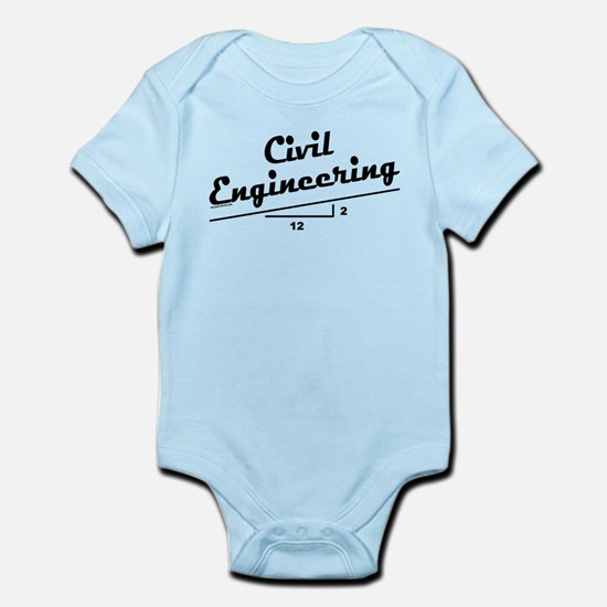 Civil Slope Infant Bodysuit