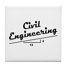 Civil Slope Tile Coaster