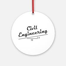 Civil Slope Ornament (Round)